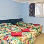 Family motel room